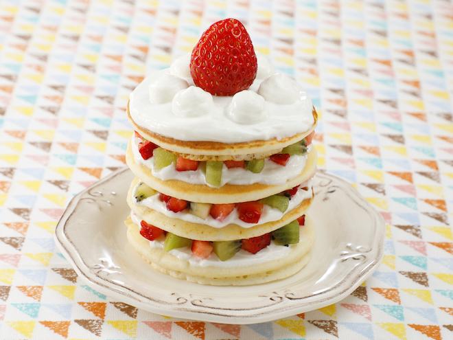 パン ケーキ デコレーション
